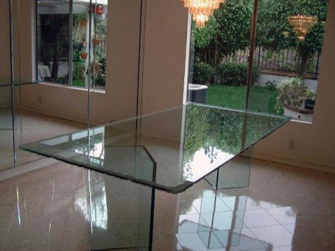 Custom Glass Tabletops